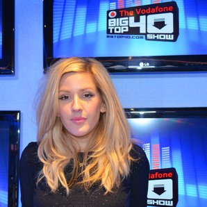 Ellie Goulding in the Big Top 40 Studio 2