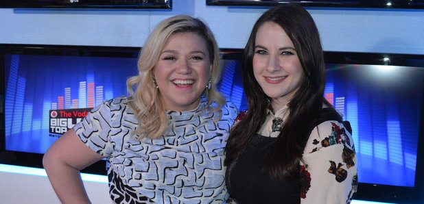 Kat Shoob & Kelly Clarkson Big Top 40